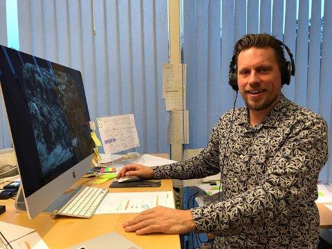 PRISVINNENDE FILMSKAPER: Erik Jacobsen har drevet med TV_produksjon siden 1993 og vunnet en rekke priser for sine dokumentarfilmer og bøker.