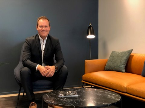 GÅR OPPOVER: Bård Åke Petersson, daglig leder i Söderberg & Partners Wealth Management, er fornøyd med at selskapet er i stor vekst.