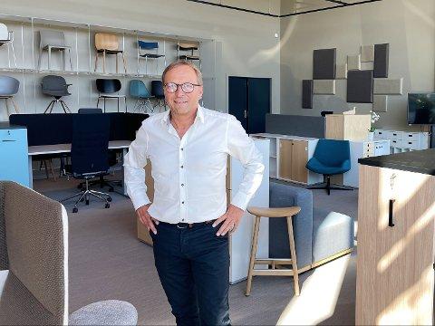 GOD UTVIKLING: Svein Rød i Senab EikelandBTV AS kan se tilbake på et år med god utvikling og mange nye spennende kunder.