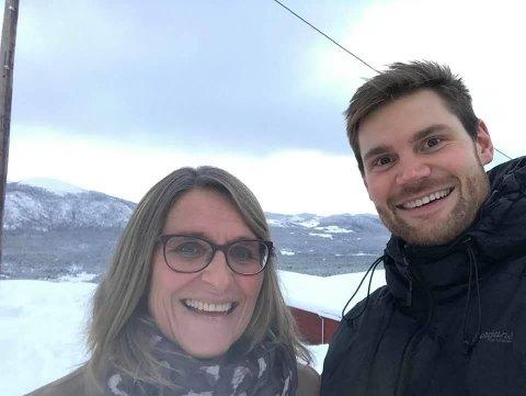 ARBEIDEPARTIPOLITIKERE: Kristin Langtjernet er lokalpolitiker for Ap, mens Nils Kristen Sandtrøen sitter på Stortinget.
