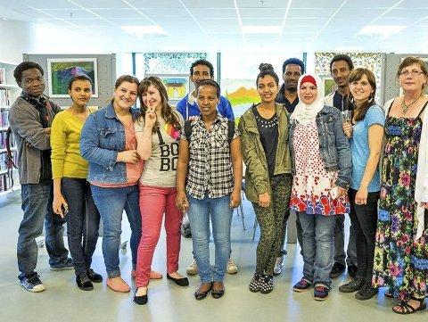 10, 15 eller 20? Flertallet i hovedutvalg for helse og sosial gikk inn for at Ås skal bosette 10 flyktninger i 2019. Bildet er fra et introduksjonskurs i 2014.