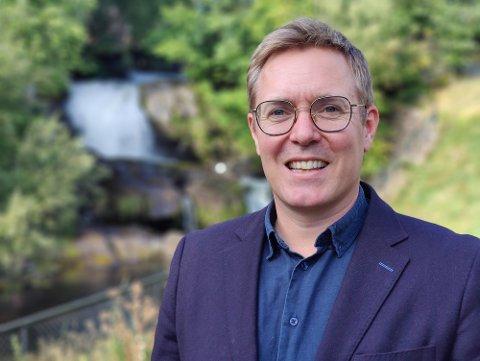 NY JOBB: AAB traff Thorbjørn Urfjell på hans andre dag i jobb for Kulturrådet. Det var hektisk fra første stund, skal vi tro den nyslåtte direktøren.