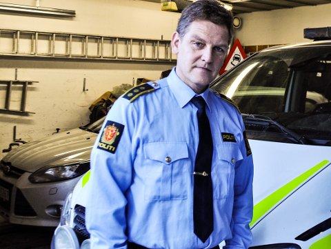 RETTSSAK: Lensmann Asbjørn Skåland skal i retten onsdag møte ekteparet fra Flekkefjord som står tiltalt i saken.