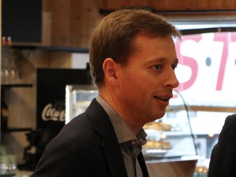 FORSVARLIG: Nestleder Jonny Liland i