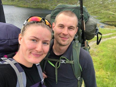 LYKKETREFF: Kaja Ullebø og Marius Løkås Ankjell er glad for tilfeldighetene som førte dem sammen.