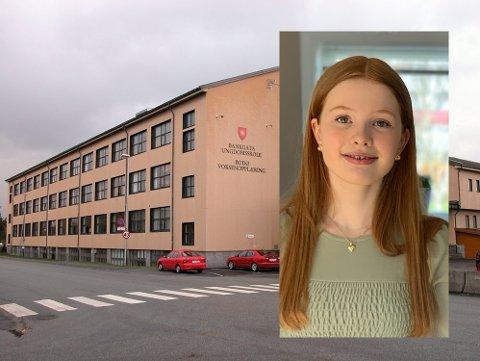 Elevrådsleder ved Bankgata ungdomsskole, Henriette Lambine-Christensen, støtter forslaget fra Utdanningsdirektoratet om å avlyse eksamen.