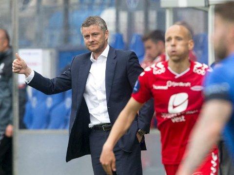 Forstår Branns taktikk: Moldes Ole Gunnar Solskjær.