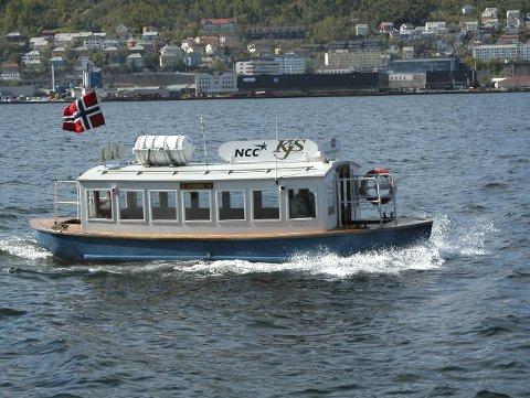 MF «Vågen» har en historie tilbake til andre verdenskrig, men det blir første gang den vil gå i rute til Gamle Bergen. (Foto: BA)