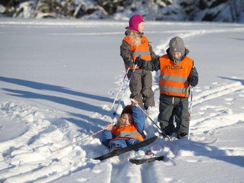 – All den tid vi har bra med plass akkurat nå, kan vi og ta imot skisko til barn. Skolenes vinterferie er som kjent like om hjørnet. Men generelt tar vi ikke inn brukte støvler, skiutstyr. Heller ikke slalåmstøvler, sier Linda Fongaard.