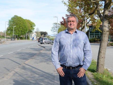 Bjørn Kahrs (Høyre), ordfører i Randaberg mellom 2011 - 2015, synes det er trist at dagens politiske ledelse i den grønne landsbyen ikke har en bedre dialog med nabokommunene.