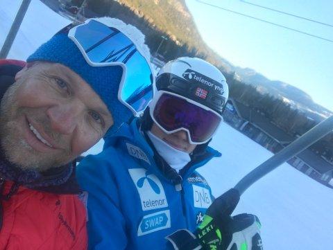 STOLT: Bjørn Braathen er stolt og imponert over sønnen Lucas, som søndag tok sin første verdenscupseier i alpint.
