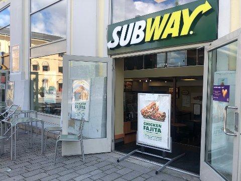 GJENÅPNET: Siden desember har Subway på Strømsø torg vært stengt. I juni åpnet de igjen, men måtte etter kort tid stenge på nytt. I august åpnes dørene nok en gang.