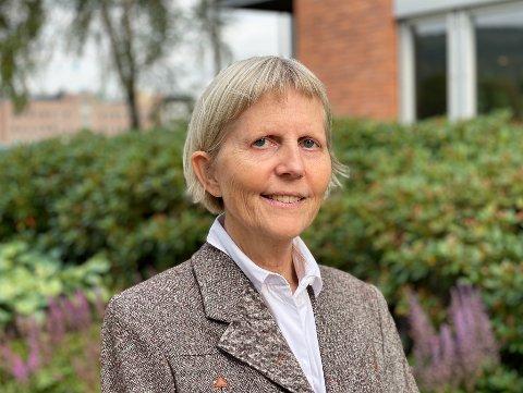 NY SJEF: Inger Meland Buer er ansatt som sjef for det nye sykehuset i Drammen.