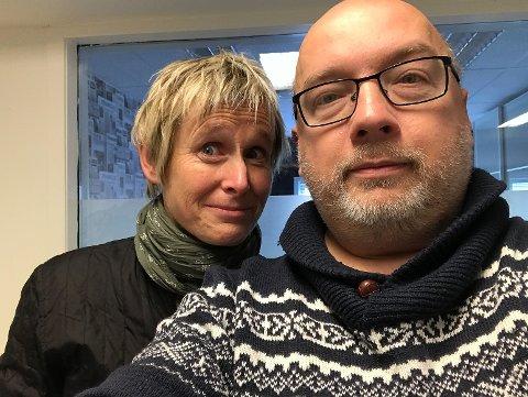 Linda Eide og Arne Hjorth Johansen