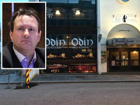 KONKURS: I starten av mai i fjor opna restauranten Odin dørene i Strandgata 56 i Florø. Men det vara ikkje lenge. – Det skuldast delvis koronakrisa, seier bustyrar Odd Bovim.