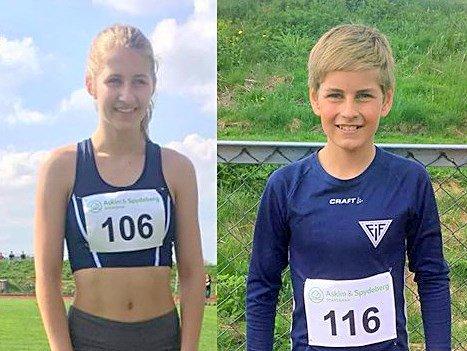 STERK INNSATS: Anniken og Herman Aarebrot leverte begge sterke resultater denne helgen. Foto: Jens Petter Wold