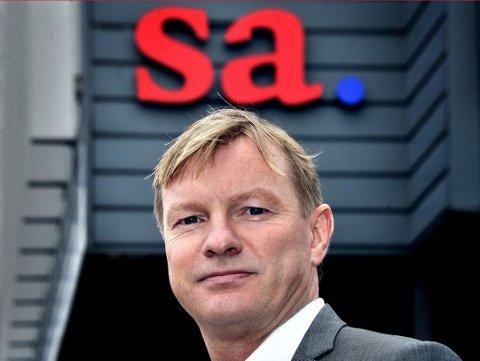 På inntektstoppen: Administrerende direktør i Fredriksstad Blad, Petter Christian Saugstad, var blant dem som tjente best av medielederne i distriktet i 2018.
