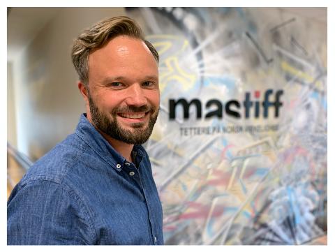 Ny jobb: Jostein Olseng (41) er blitt daglig leder i produksjonsselskapet Mastiff.