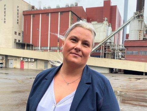 Hege Dubec, styreleder i Frevar, sier innbyggerne ikke har grunn til å frykte noen kjempeøkning av avgiftene med byggingen av nytt renseanlegg.
