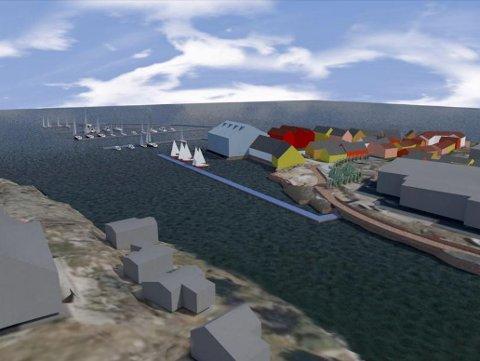 Planene for Marnet Marine Park skal behandles i planutvalget 3. desember og i bystyret 10.desember. Beboere i området mener imidlertid at politikerne bør utsette vedtaket og ta seg en tur ut og se på trafikkforholdene først.