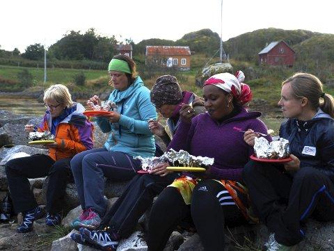 FRA TIDLIGERE KURS: Mandag og tirsdags blir det tur og treningskompiskurs i Narvik, på Frydenlund  barneskole..