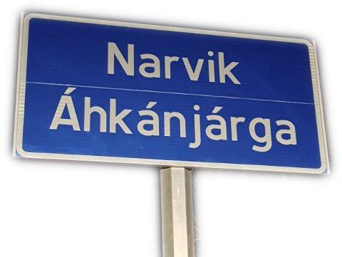 GJERNE ØVERST: Prest Trond Laksaa ser gjerne at det samiske navnet på Narvik kan stå øverst på skiltene hvis det betyr mye for identiteten og selvfølelsen til den samiske delen av befolkningen.