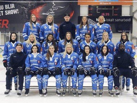 Damelaget til Narvik Hockey, The Lady Eagles, trekker seg ut av Narvik hockey.