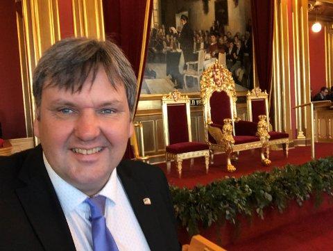 BRENNENDE ENGASJERT: Høyres Jonny Finstad, medlem av Stortingets Transport- og kommunikasjonskomité, mener det er på tide at Narviks bytunnel kommer inn i NTP.