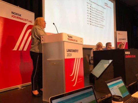 Valgt: Ann-Kristin Hanssen ble torsdag valgt inn i landsstyret til Norsk journalistlag.