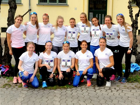 Lillehammer IFs damelag løp inn til en respektabel 9. plass.