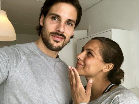 FORELDRE: Den kjente bloggeren Funkygine, Jørgine Massa Vasstrand og lillehamringen Morten Sundli har fått en sønn.
