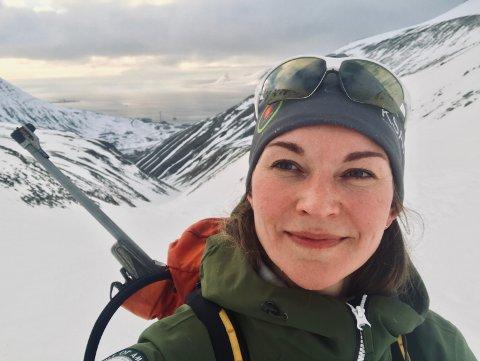 Maja-Stina Ekstedt er godt rustet når hun drar på tur på Svalbard.