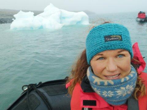 PÅ SVALBARD: Anne Mette Nilsen Mørk har bodd og jobbet i Longyearbyen i over seks år.