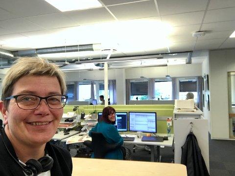 ØKER: Flere leser Hadeland i år, enn på samme tid i fjor. - Vi har verdens beste lesere, sier ansvarlig redaktør i Hadeland, Sissel Skjervum Bjerkehagen.