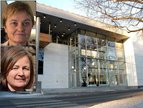 KRITISKE: Stortingspolitiker Rigmor Aasrud (Ap) og sorenskriver Ingjerd Thune ved Gjøvik tingrett.