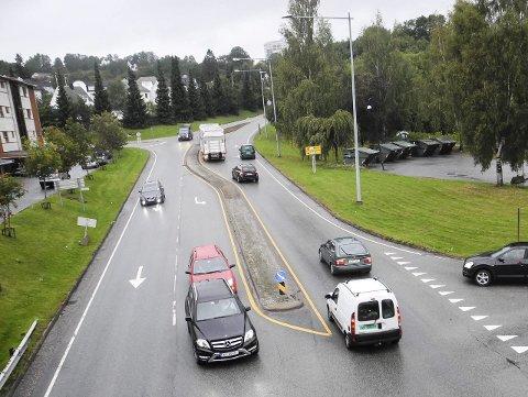 LITE HAR SKJEDD: Helt siden 2012 har saken om rundkjøring mellom Haakon VII´s vei og Marcus Thranes gate vært tema.