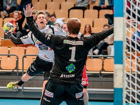 FORSVINNER?: William Nilsen-Nygaard fristes av spill i utlandet, men holder alle dører åpne for sin videre håndballkarriere.
