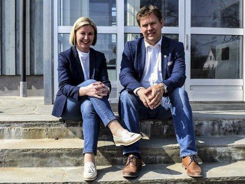 Forhandlet: Ordfører Geir Aarbu ga rådmann Alice Reigstad høyere lønn enn han hadde fullmakt til. Aremark kommune