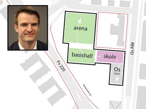ORDKNAPP: Kommunikasjonsdirektør i AF Gruppen, Knut Ekern, ønsker ikke å kommentere innsigelsen fra Veidekke før Halden tingrett har sagt sitt i saken.