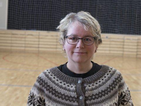 Ingrid Dale: Seier ja til endring og ja til Jondal+Ullensvang+Odda. Arkivfoto: Eli Lund