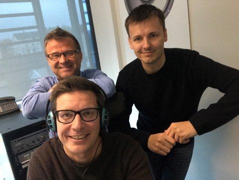 UKENS PANEL: Odd Kåre Grøttland, Geir-Å. Kristiansen og programleder Terje Flateby.