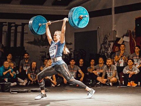Femteplass: Matilde Øyen Garnes ble nummer fem under NM i Functional Fitness i helga, og sikret seg med det plass på Norges lag under VM i London i oktober.