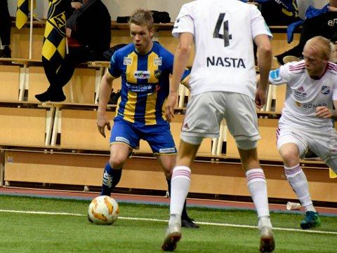 UTE: Dag Andreas Balto spilte en god kamp for Alta IF, men måtte i likhet med resten av laget se seg slått av Stabæk.