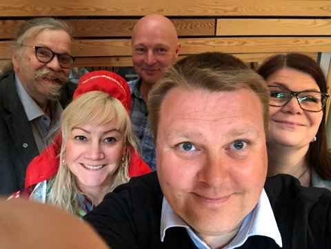 SKEPTISK: Den grønne blokken på Fylkestinget i Finnmark er skeptisk til planene om mer vindkraft i Finnmark.
