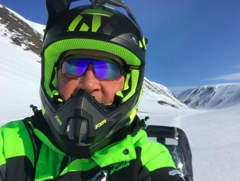 GIKK SEG FAST: Børre Steinar Børresen gikk seg fast til fjells, uten ekstra mat eller ski til å komme seg ned.