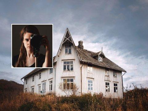 FAVORITT: I tillegg til et hus i Konsgvik, er Petrahuset harstadfotografens favoritt. Dette blir presentert i kommende fredags «Norge Rundt»-sending på NRK1.