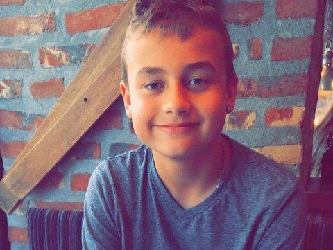 UNGOMSSKOLEELEV: Lucas Eng-Langnes har et avslappet forhold til å begynne på ungdomsskolen.