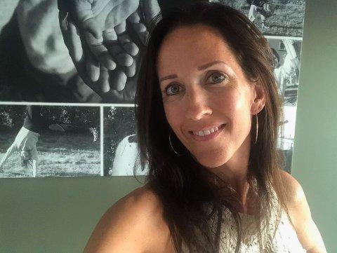 GIR GASS: Fra 23. august vil Lene Hoff Holmedahl være koordinator for Aurskog-Hølands nye Home-Start familiekontakt-program, noe hun gleder seg veldig til.