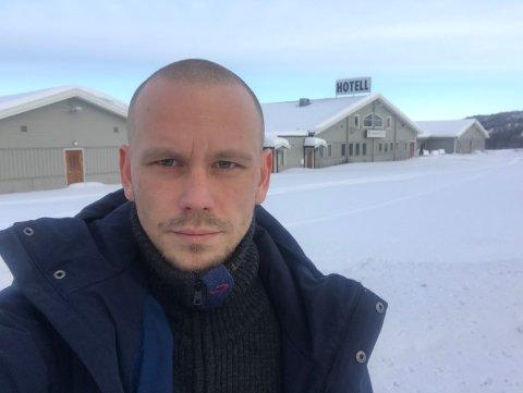 GA OPP: Mikael Arvola drev hotellet i tre år, men måtte så gi opp fordi han var nær et sammenbrudd.
