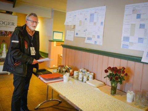 IVRIG: Amund R. Tinderholdt i arbeid under Glogerfestspillene 2016. Nå får han frivillighetsprisen.